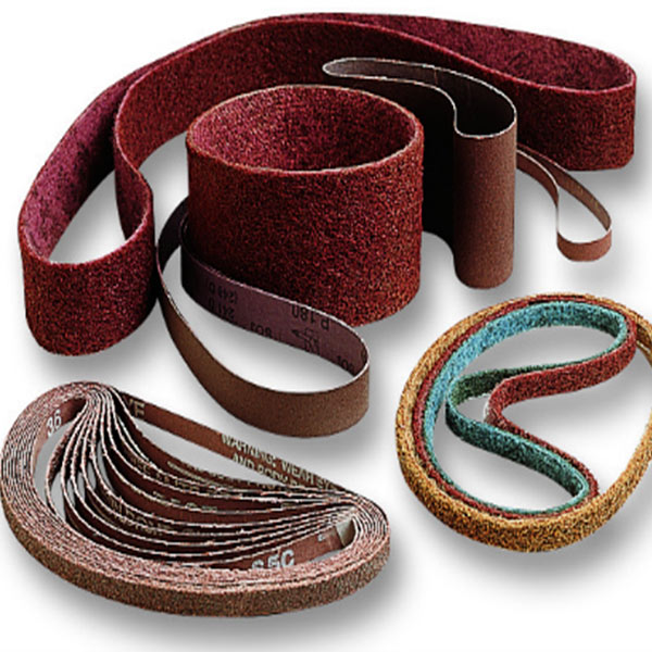 abrasive finishing belts