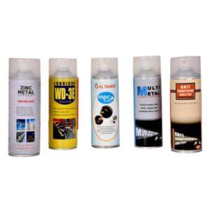 Aerosols Spray's