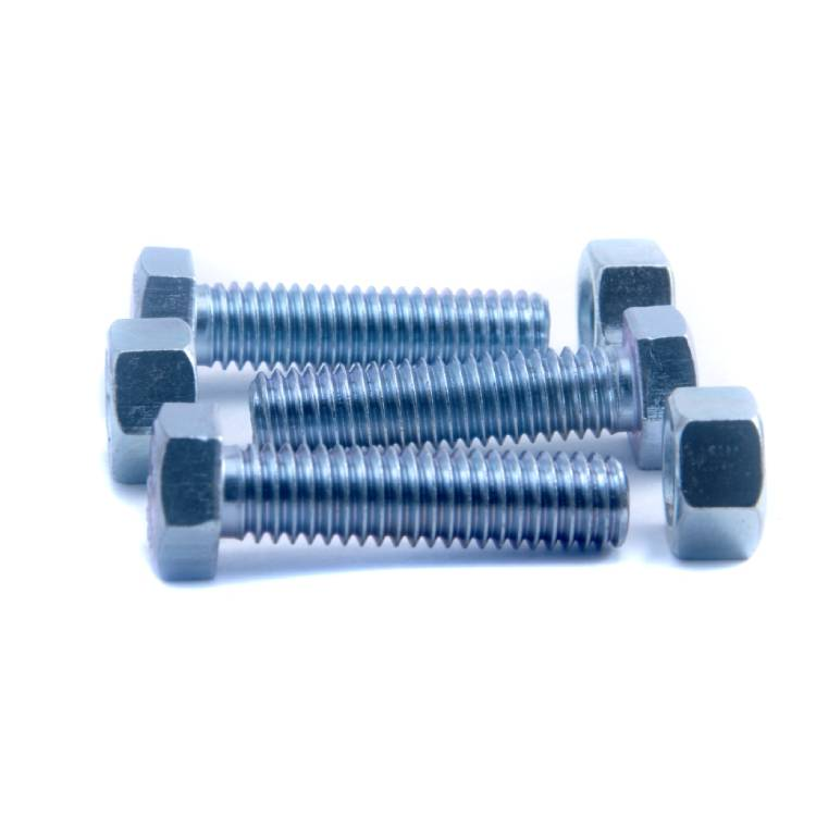 Zinc Plating on Fasteners, Nut boults