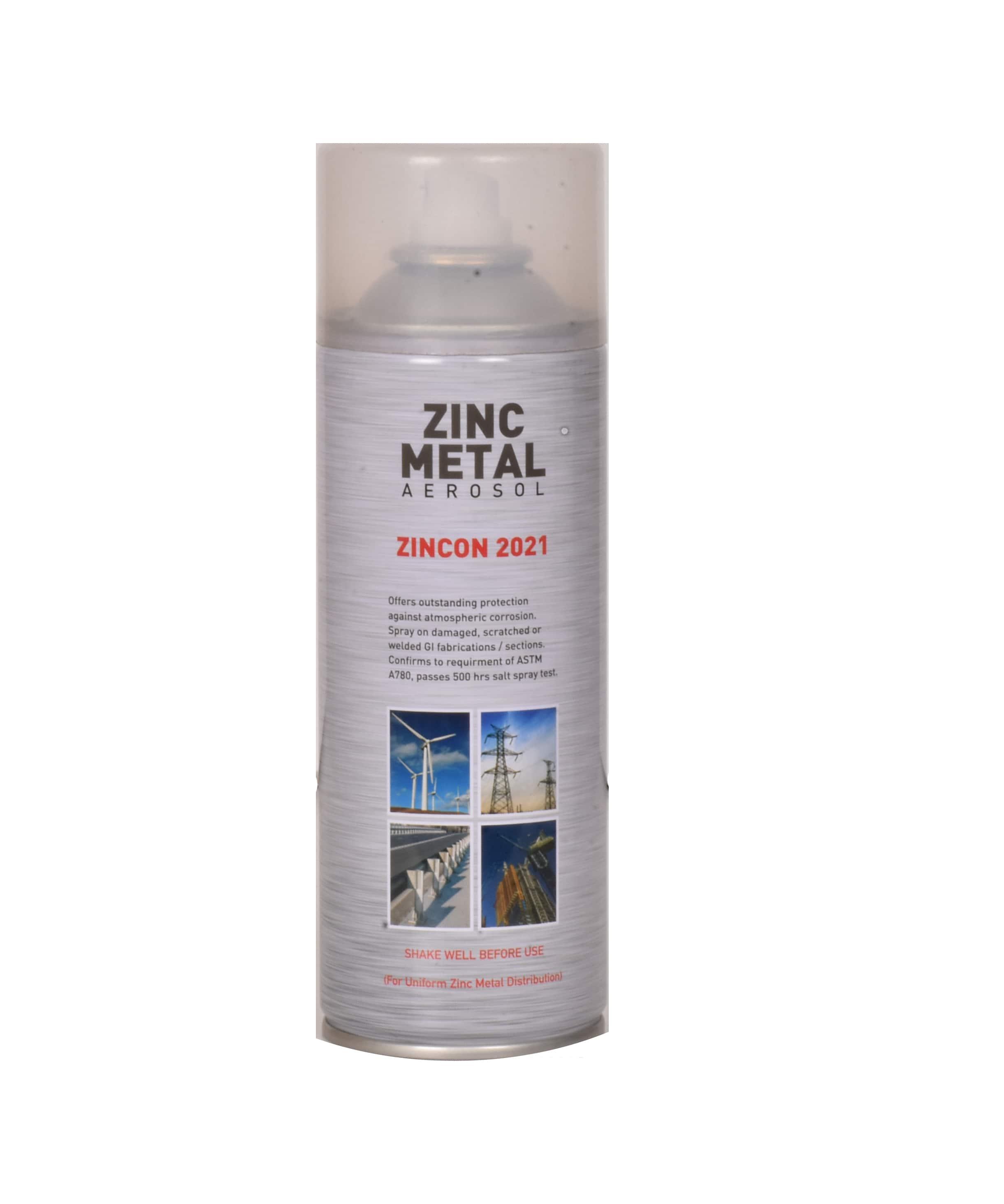 Zincon 2021 Zinc Metal Aerosol