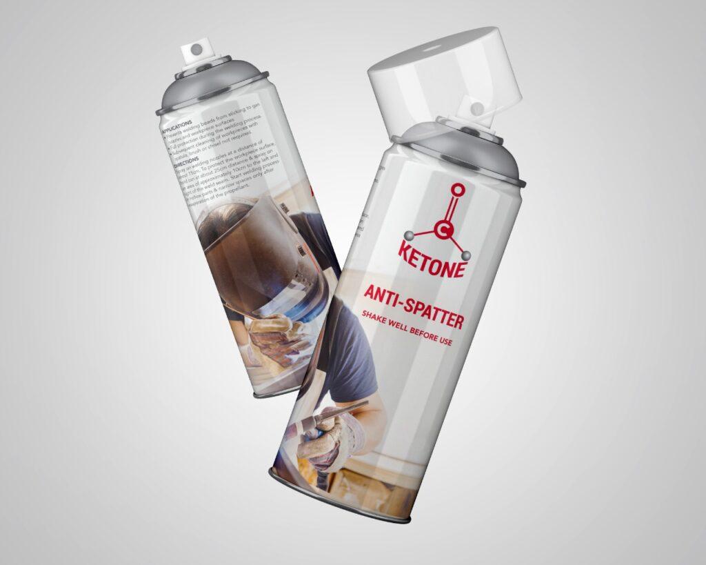 KEYTONE™ Aero Anti Spatter Spray (Can 500ml)