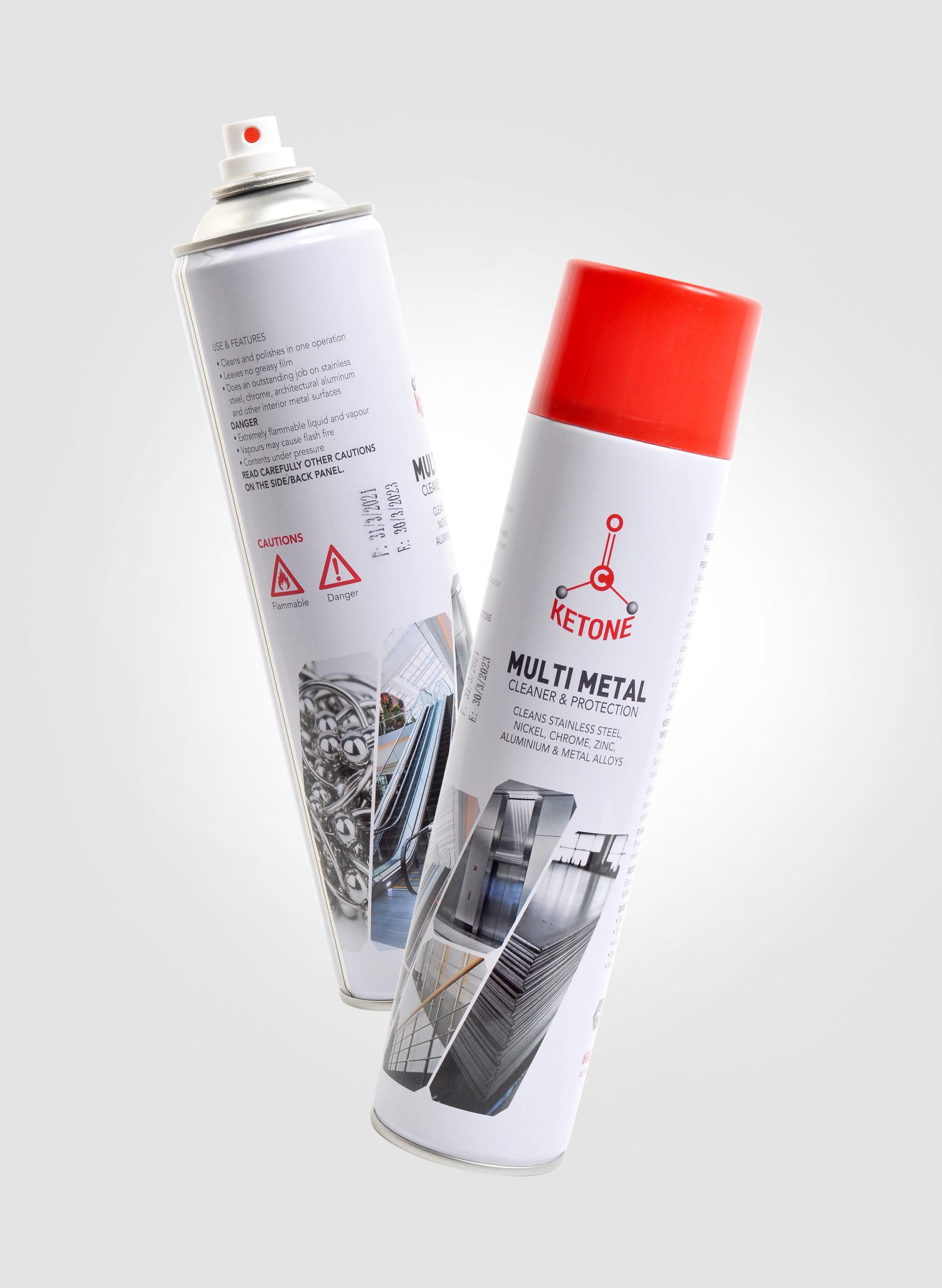 Multi Metal Cleaner Spray